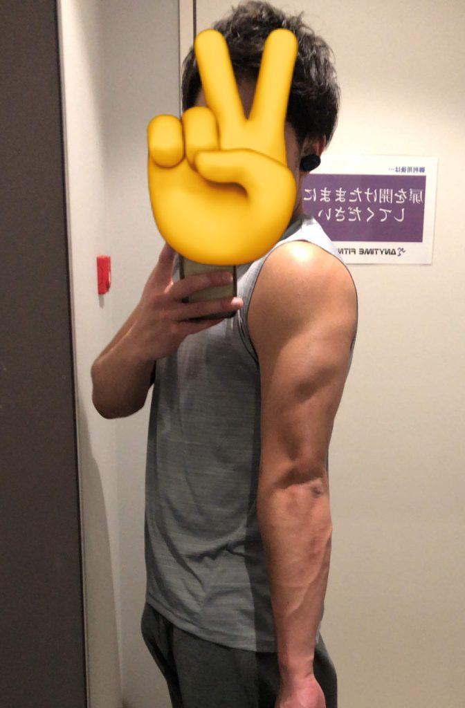 おっくソの筋肉の画像