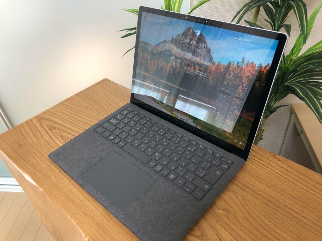 surface laptopレビューの画像
